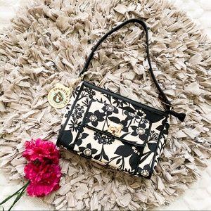 NWT Spartina Privateer Black Print Shoulder Bag
